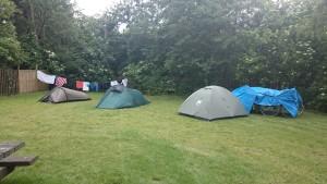 Unterkunft eingerichtet